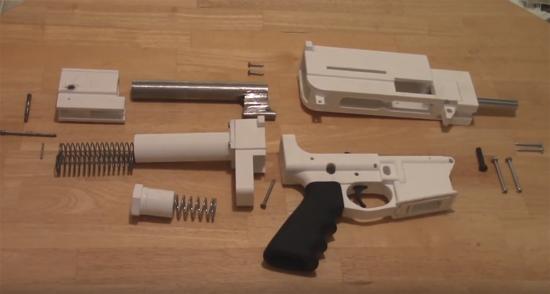 قوانین مربوط به پرینت سه بعدی اسلحه