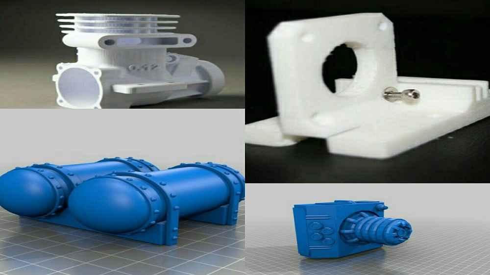 پرینتر سه بعدی در صنعت