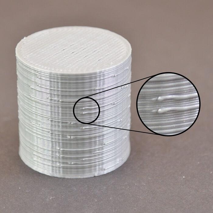 حباب ها و لکه های سطحی در پرینت سه بعدی