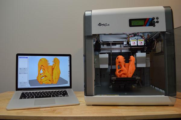 نصب و راه اندازی پرینتر سه بعدی XYZprinting da Vinci