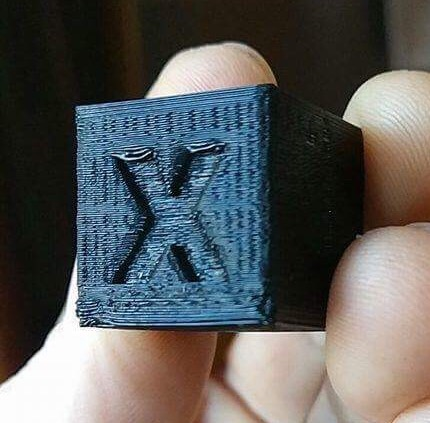 الگوی موجی در پرینت سه بعدی