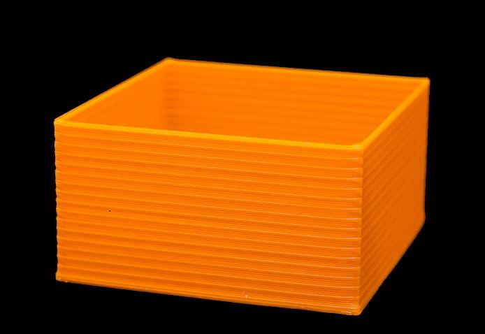 وجود خط هایی در کناره قطعه سه بعدی