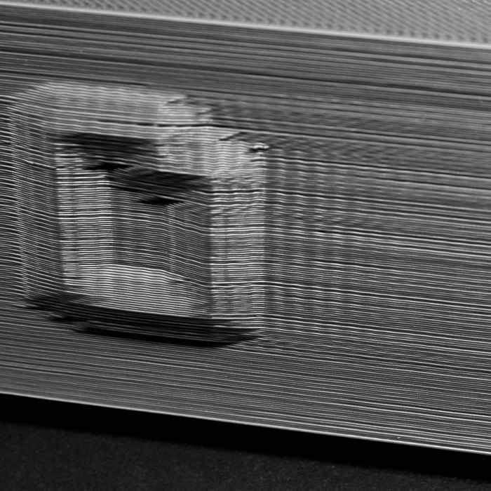 ارتعاش و نوسان در قطعه سه بعدی
