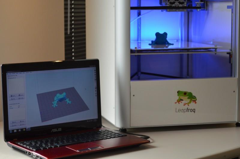 راه اندازی و نصب پرینتر سه بعدی Leapfrog Creatr