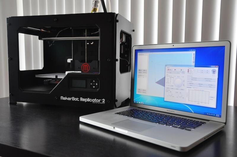 راه اندازی و نصب Makerbot® Replicator® 2 در Simplify3D