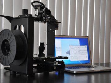 نصب و راه اندازی پرینتر سه بعدی MakerGear M2