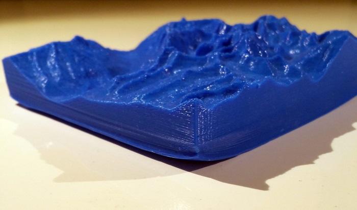 پیچش و انحنا در لبه پرینت سه بعدی