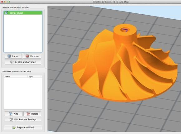 وارد کردن و مدیریت مدل های سه بعدی