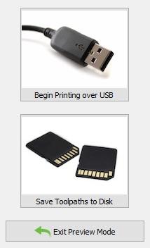 گزینه Toolpath-Printing-Options