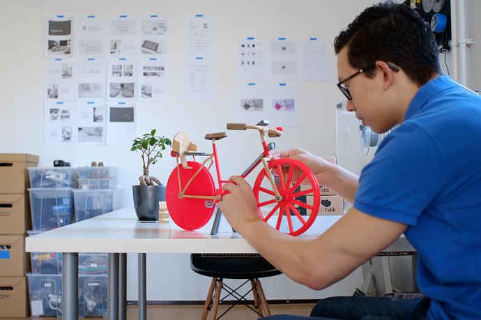 چاپ دوچرخه مدل مقیاس