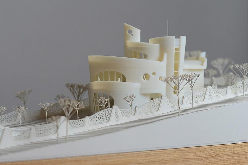 کاربرد پرینت سه بعدی در معماری