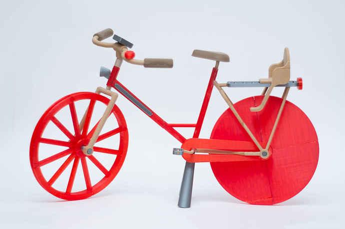 چاپ سه بعدی دوچرخه مدل مقیاس