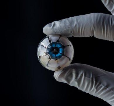 تکنولوژی پرینت سه بعدی , چاپ چشم بیونیک