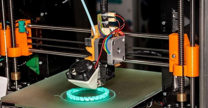 پرینتر سه بعدی برای پرینت چرخ
