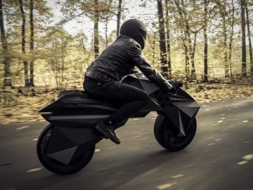 پرینت سه بعدی موتور سیکلت الکتریکی